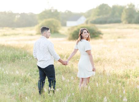 NH Wedding Photographer | Wagon Hill Farm Engagement Session