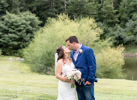 Fosters Clambakes & Catering Wedding | York, ME | Samantha & Mike