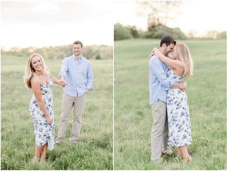 Wagon Hill Farm Engagement | Durham, NH | NH Wedding Photographer