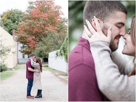Downtown Portsmouth Engagement | Portsmouth, NH | Associate Team | Maggie + Travis