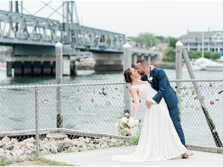 NH Wedding Photographer | The View at Pepperrell Cove | Claire & Andrew