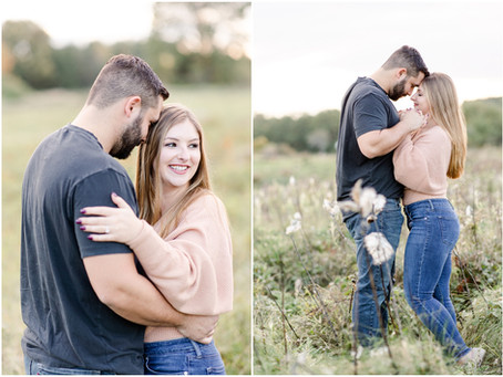 Wagon Hill Farm Engagement   Durham, NH   Ryleigh + Josh  NH Wedding Photographer
