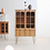 Thumbnail: Vintage arch cabinet(High)
