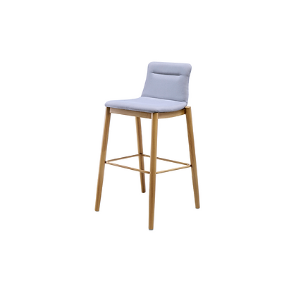 Tower - Bar chair wooden grain