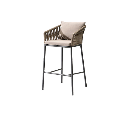 Garden - Bar chair steel
