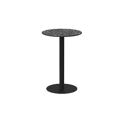 I - Round bar table