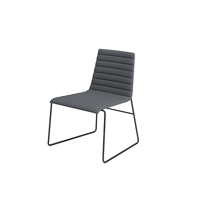Flow - Chair without armrest
