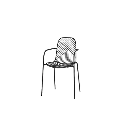 Sketch 2.0 - Chair with armrest
