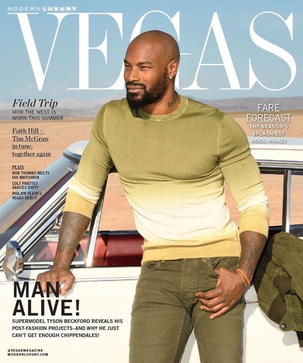 Vegas Magazine Cover
