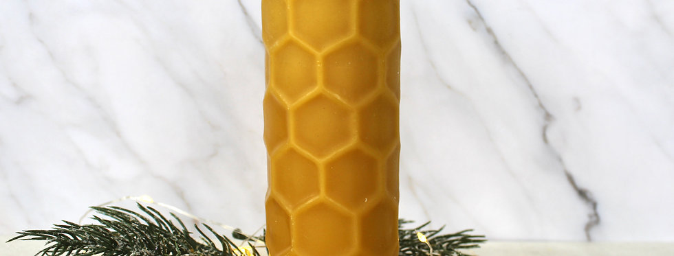 """6"""" Hex Cylinder Candle"""