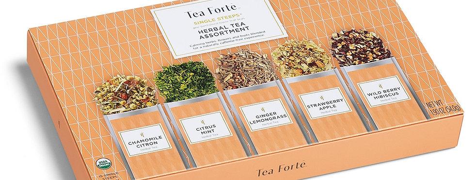 HERBAL TEA ASSORTMENT- SINGLE STEEPS