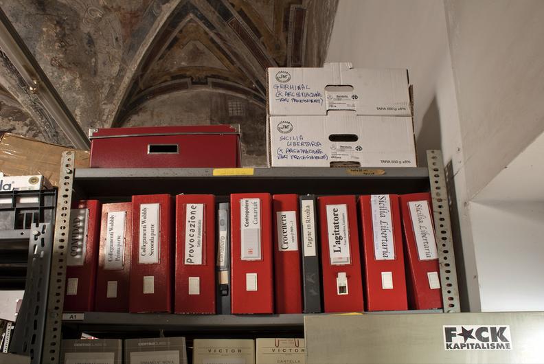 Biblioteca Libertaria Francisco Ferrer, Gênes