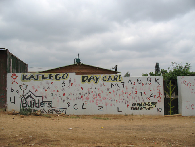 Katlego day care, Cosmo City