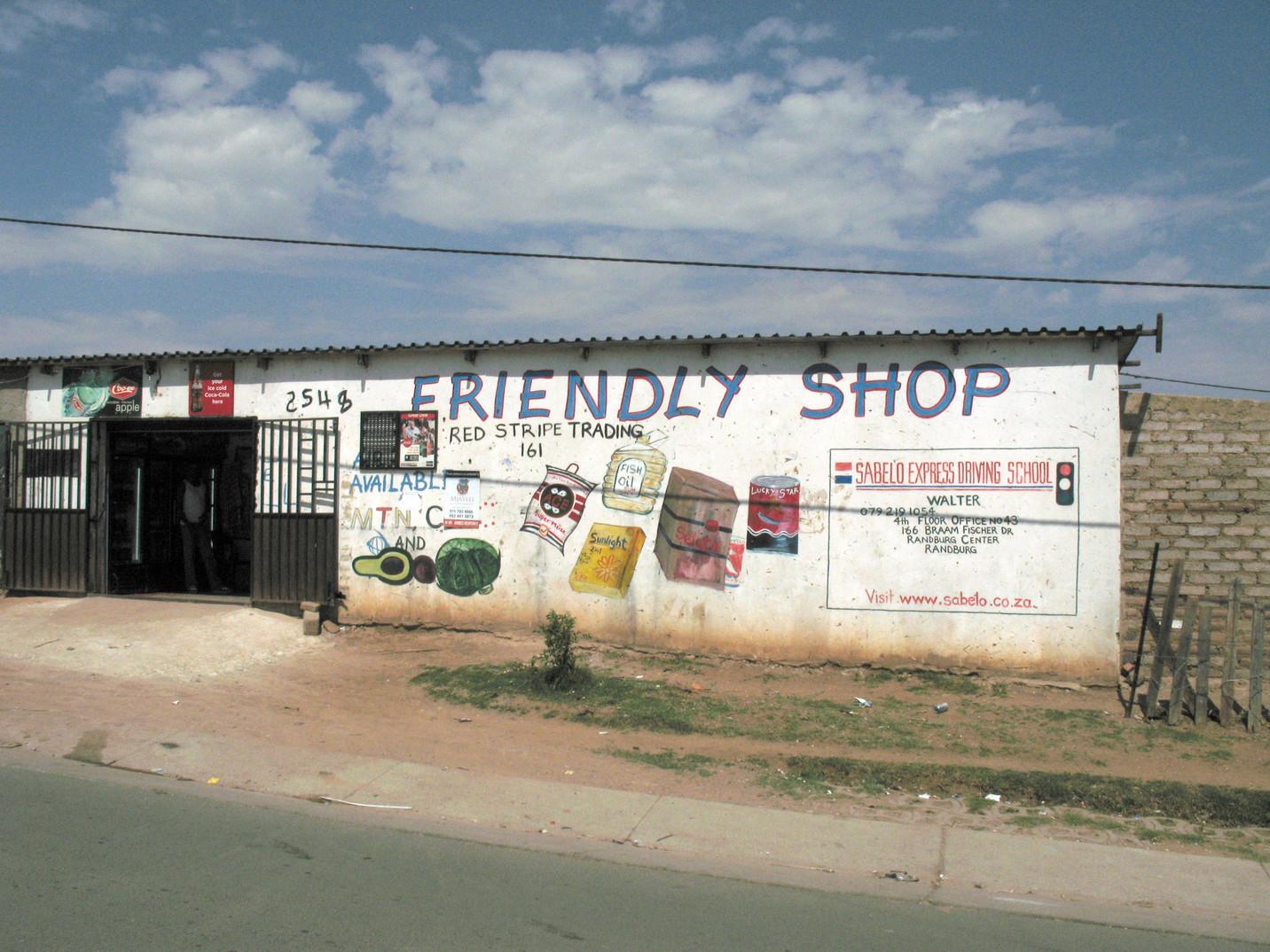Friendly Shop, Cosmo City