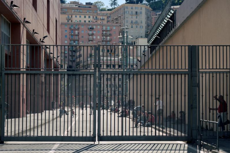 Stade - Prison, Gênes