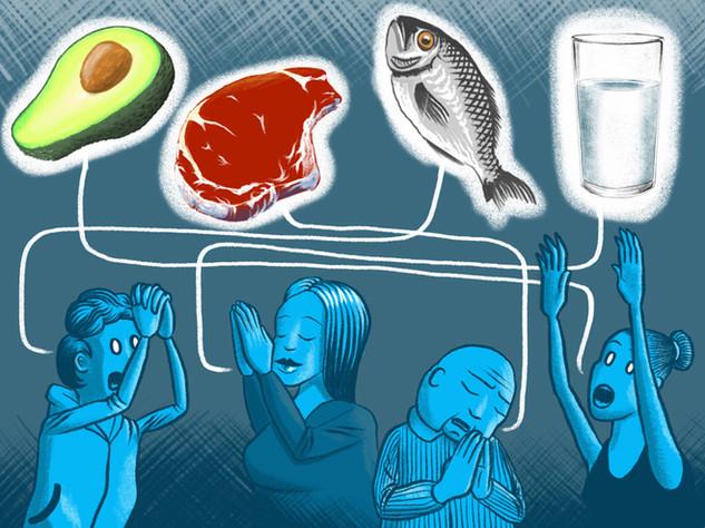 Serie Essen: «Glaubensfrage Ernährung», Neue LZ und St. Galler Tagblatt