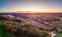 641559-001 Clover Hill Aerial Dawn-PRINT