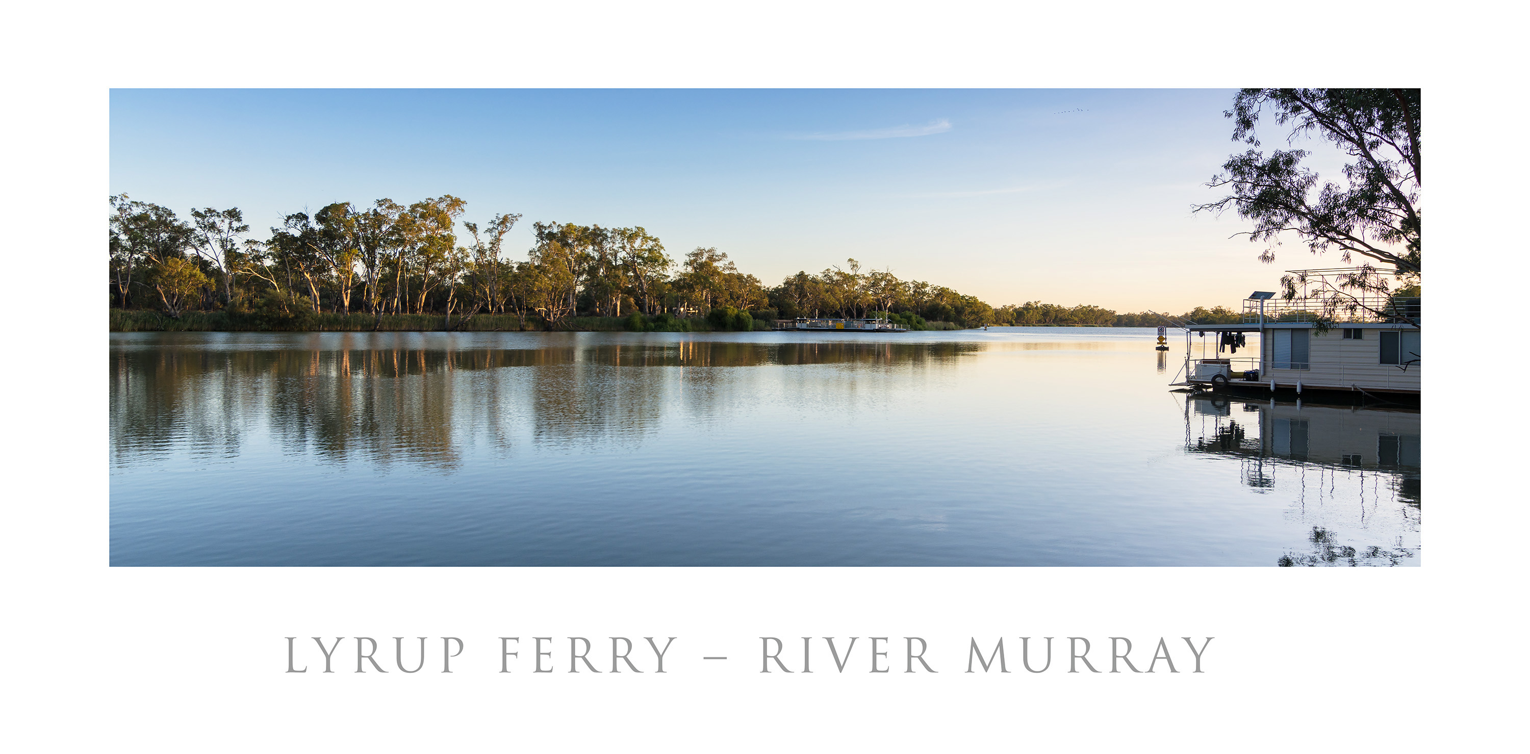 Lyrup - River Murray