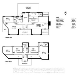 811A Torrens Valley Road, Birdwood Floor Plan-PRINT