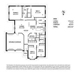 19 Thespian Court, Murray Bridge Floor Plan-PRINT