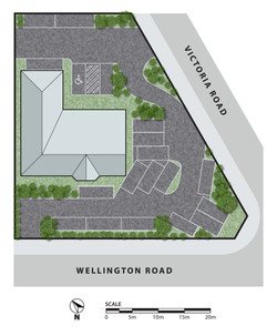 57a Wellington Road, Mount Barker Site Plan Option 2-PRINT