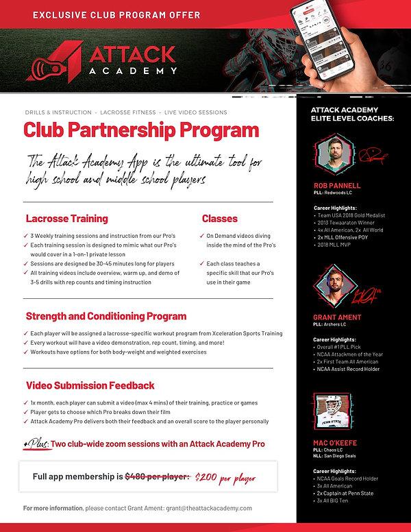 Attack Academy Partner Program  - OnePag