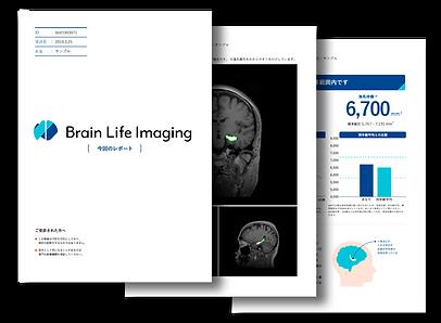 Brain Life Imaging ブレインライフイメージング検査結果レポート