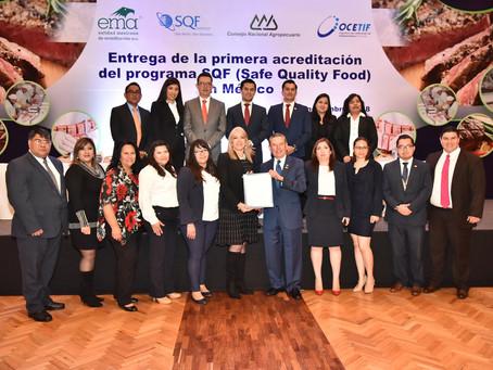 Se entrega la primer acreditación SQF en México