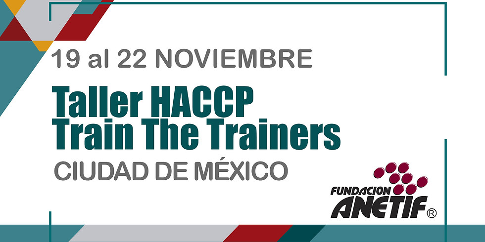 Taller HACCP Train The Trainers