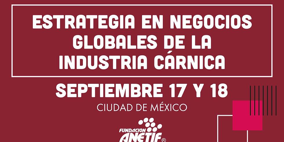 Estrategia en negocios globales de la industria cárnica