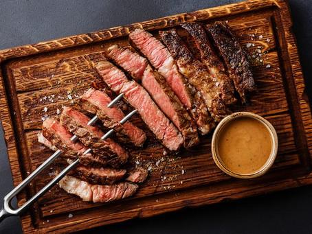Presentaron el primer bistec de costilla de carne cultivada impreso en 3D