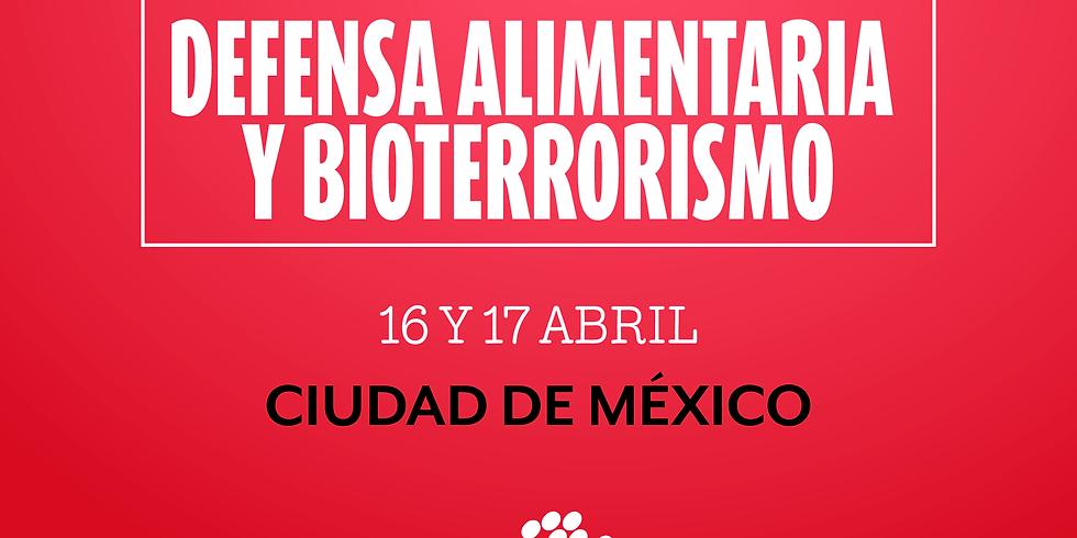 Defensa Alimentaria y Bioterrorismo