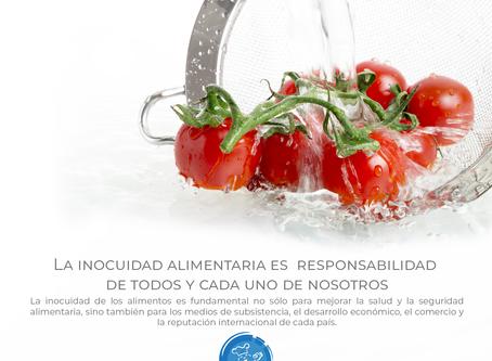 Cinco medidas que todos debemos tomar para garantizar la inocuidad de los alimentos