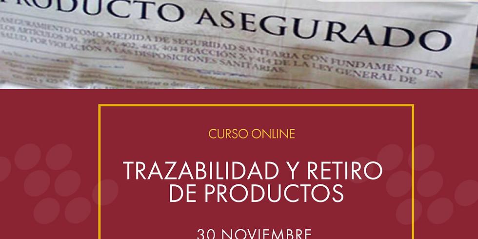 Trazabilidad y retiro de productos