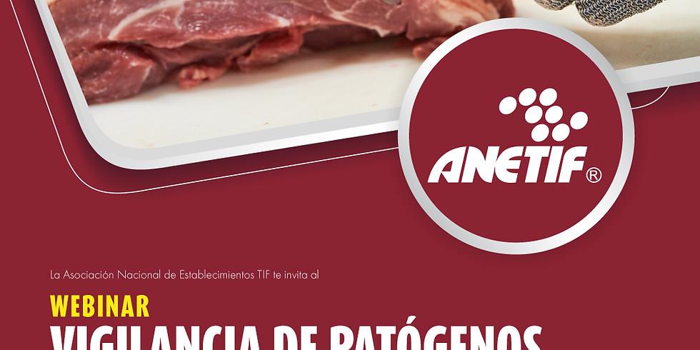 WEBINAR Vigilancia de patógenos en carne en el sistema TIF en México