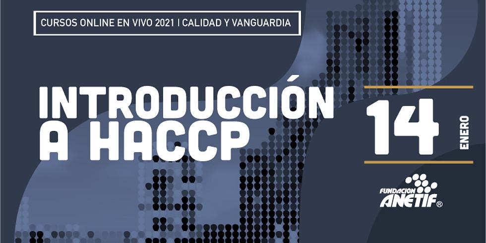 Introdución a HACCP