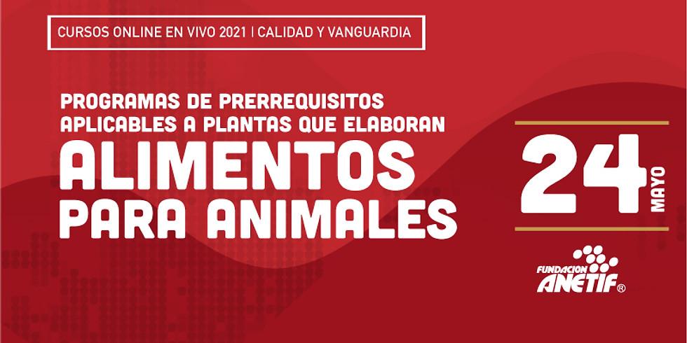 Online :: Programas de prerrequisitos aplicables a plantas que elaboran alimentos para animales