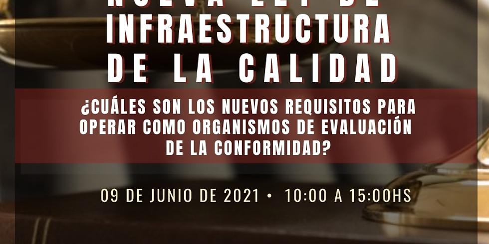 CURSO NUEVA LEY DE INFRAESTRUCTURA DE LA CALIDAD