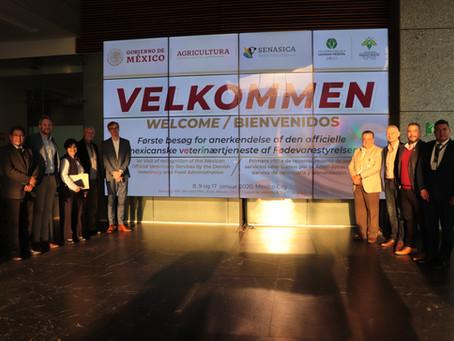 México y Dinamarca, porcicultura sana, inocua y competitiva