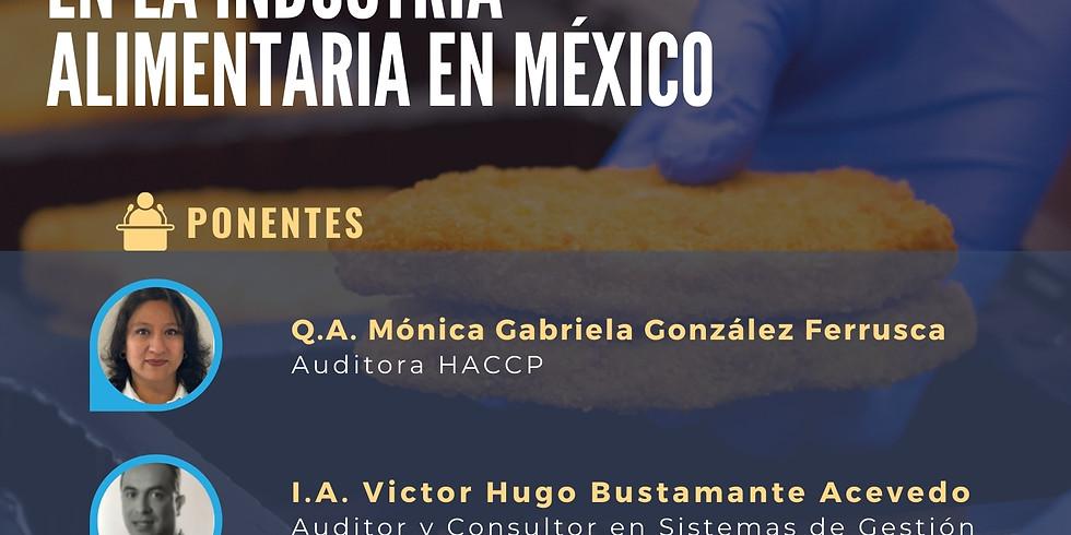 Webinar Importancia de un Sistema HACCP en la inocuidad y eficiencia en la industria alimentaria en México