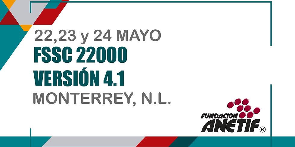 FSSC 22000 VERSIÓN 4.1