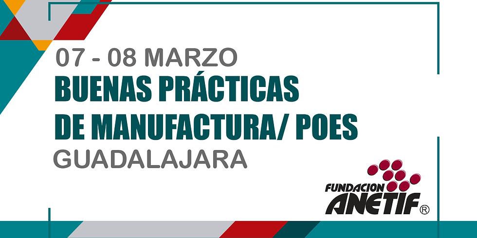 Buenas Prácticas de Manufactura / POES