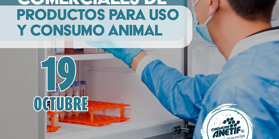 Regulación de Establecimientos comerciales de productos para uso o consumo animal.