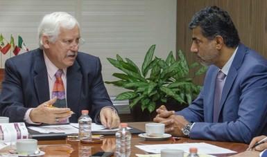 Se proponen México y Qatar dinamizar comercio agroalimentario