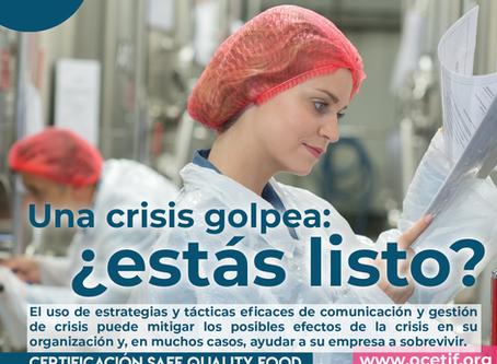 Una crisis golpea: ¿estás listo?