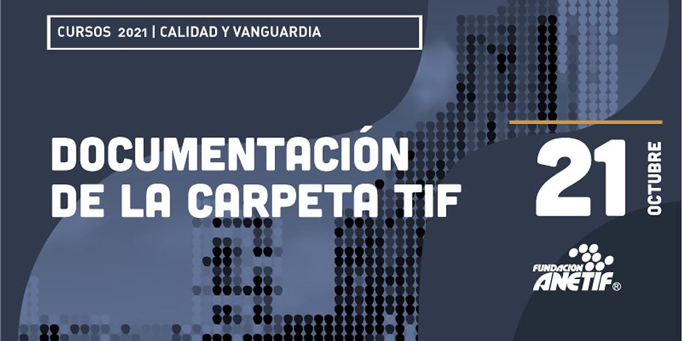 Documentación de la Carpeta TIF