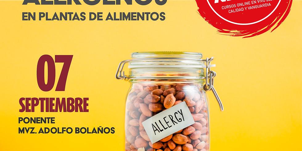 Introducción al control de alérgenos en plantas de alimentos