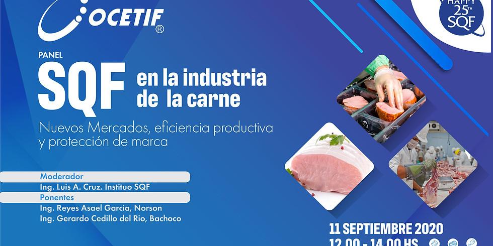SQF en la industria de  la carne: Nuevos Mercados, eficiencia productiva y protección de marca