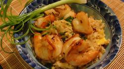 Fried Rice with Tiger Prawn