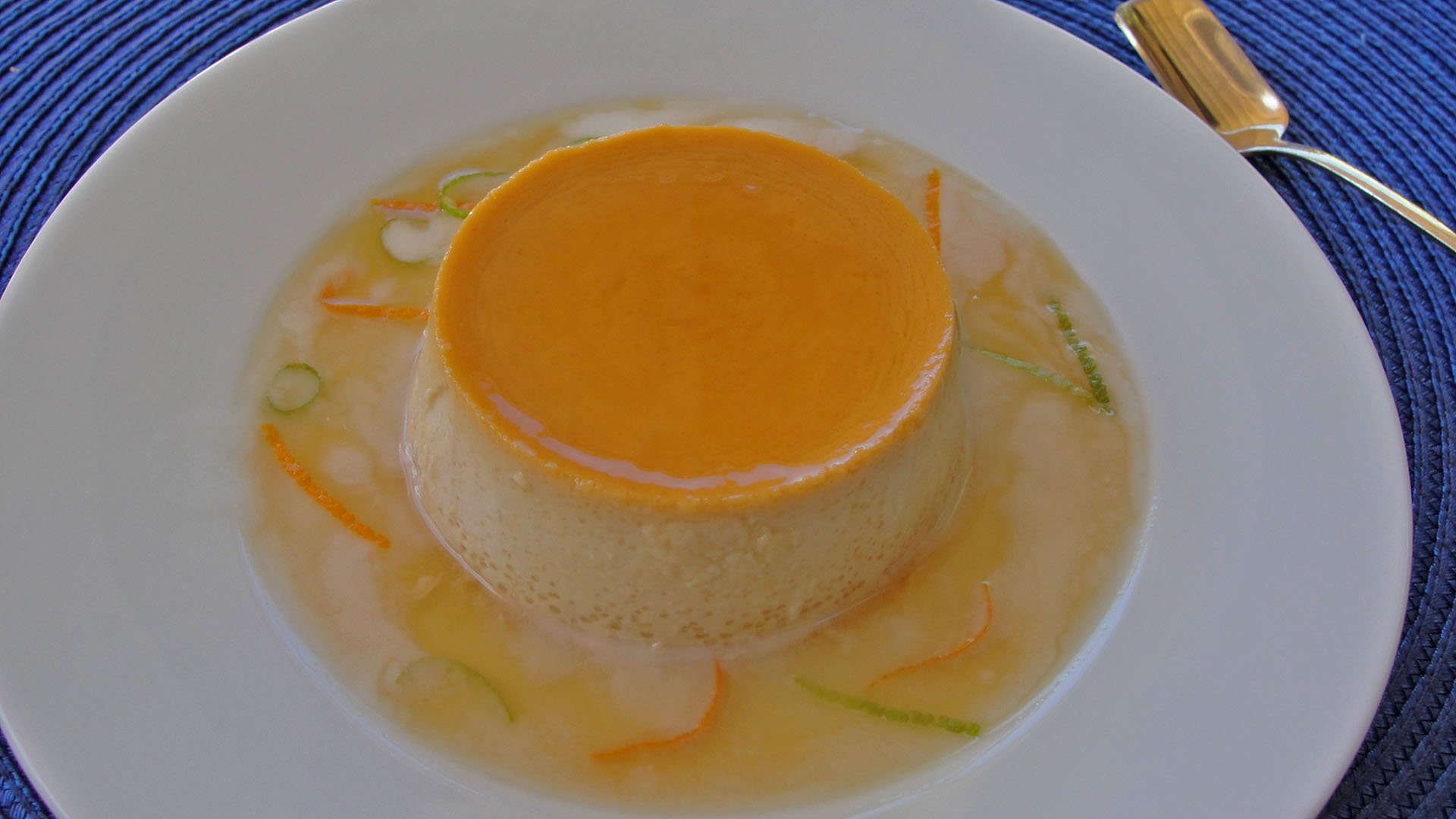 Thai Coconut Flan